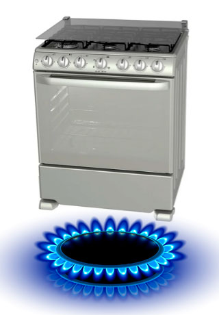 estufas a gas natural