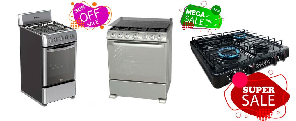 mejores estufas de gas baratas
