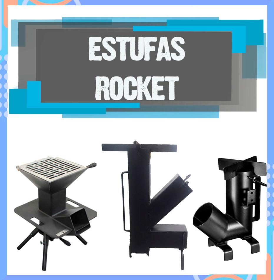 mejores estufas rocket