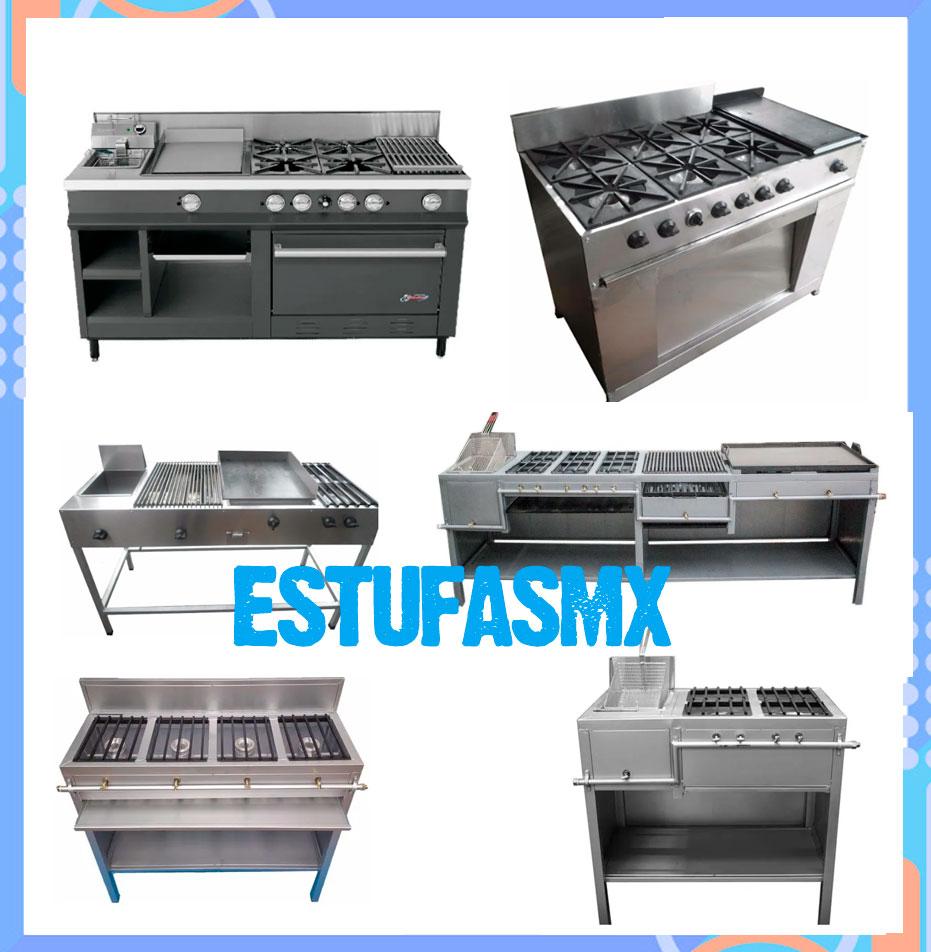 tipos de estufas comerciales para tu negocio