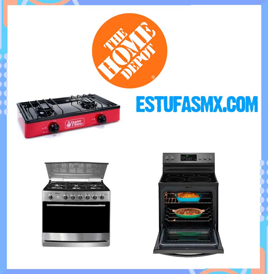 Estufas Home Depot