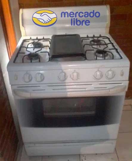 mercado libre estufas usadas