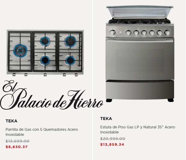 precio Estufas Palacio de Hierro