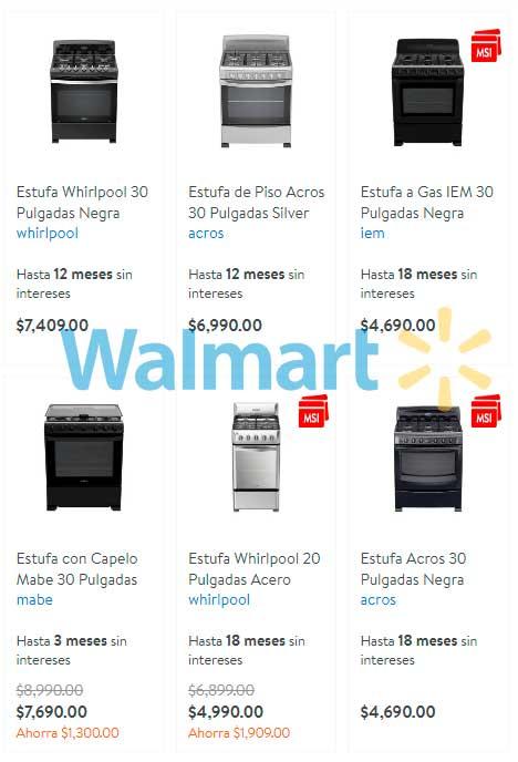 precio y ofertas en estufas y parrillas walmart