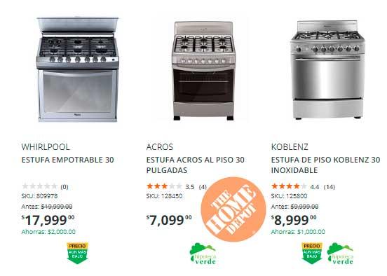 precio y ofertas estufas y parrillas home depot