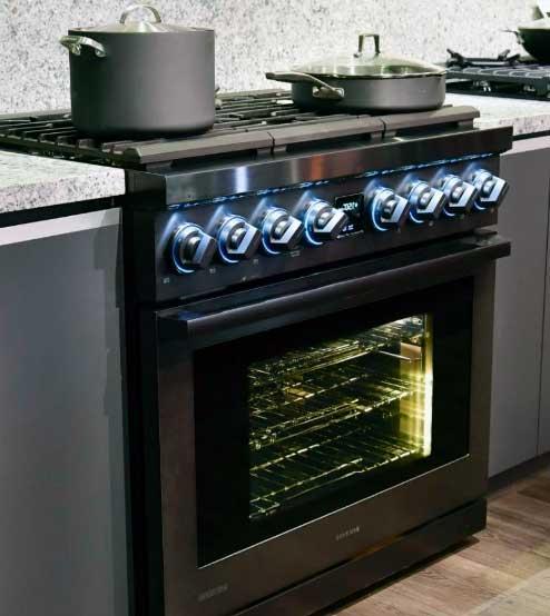 estufa en cocina coppel